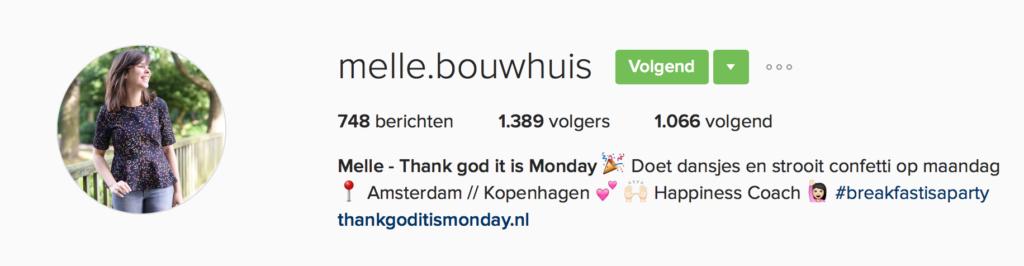 Instagram Melle Bouwhuis